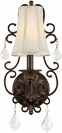 Forte 7484-01-32 Traditional Antique Bronze Wall Light Sconce