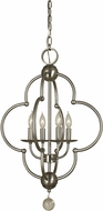 Framburg 1160 Quatrefoil 19  Foyer Lighting Fixture