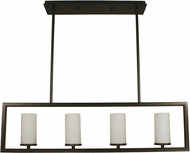 Framburg 1194 Theorem Contemporary Kitchen Island Light Fixture