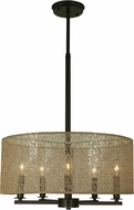 Framburg 1217 Chloe 18  Drum Hanging Light Fixture