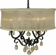 Framburg 1234 Liebestraum Traditional 19  Drum Ceiling Pendant Light