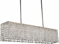 Framburg 2048-PS Princessa Contemporary Polished Silver Island Lighting