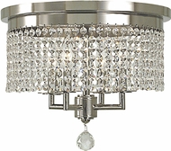 Framburg 2273-PS Princessa Contemporary Polished Silver Overhead Lighting