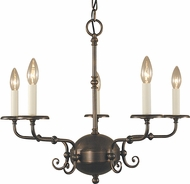 Framburg 2375 Jamestown Traditional Chandelier Lamp