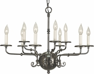 Framburg 2379 Jamestown Traditional Chandelier Light