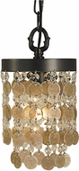 Framburg 2480 Naomi Modern Mini Hanging Pendant Lighting
