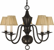 Framburg 2535 Jamestown Traditional Chandelier Lamp