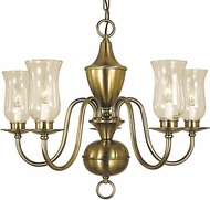 Framburg 2545 Jamestown Traditional Chandelier Light