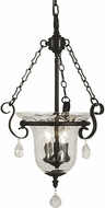 Framburg 2917 Carcassonne Traditional 14  Foyer Light Fixture