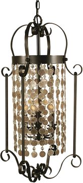Framburg 2925 Naomi Contemporary Foyer Light Fixture