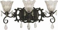 Framburg 2963 Liebestraum Traditional 3-Light Vanity Light Fixture