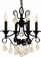 Framburg 2974 Liebestraum Traditional Mini Ceiling Chandelier