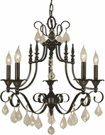 Framburg 2975 Liebestraum Traditional Hanging Chandelier