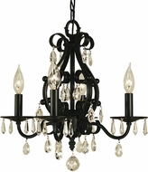 Framburg 2984 Liebestraum Traditional Mini Chandelier Light