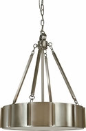 Framburg 4590 Pantheon Contemporary 16  Drum Pendant Light Fixture