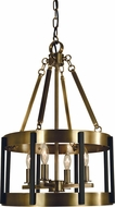 Framburg 4664 Pantheon Contemporary 14  Drum Drop Ceiling Lighting