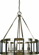 Framburg 4668 Pantheon Modern 28  Drum Ceiling Pendant Light
