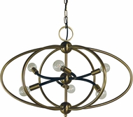 Framburg 4948 Orbit Contemporary 26  Pendant Hanging Light