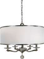 Framburg 4996 Glamour Drum Drop Ceiling Light Fixture