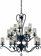 Framburg 5027 Ilsa Traditional 36  Chandelier Light