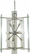 Framburg 5300-PN Metrocraft Modern Polished Nickel Foyer Light Fixture