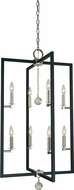 Framburg 5368-PN-MBLACK Minimalist Elegant Contemporary Polished Nickel/Matte Black 22  Foyer Lighting