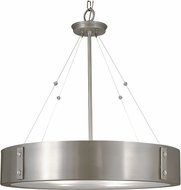 Framburg 5395 Oracle Modern 23  Drum Pendant Light Fixture