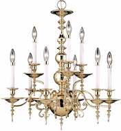 Framburg 7449 Kensington Traditional Chandelier Lighting