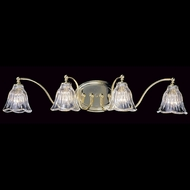 Framburg 8174 Geneva Traditional 4-Light Bath Light Fixture