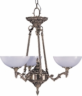 Framburg 8403-FB Napoleonic Traditional French Brass 24  Chandelier Light