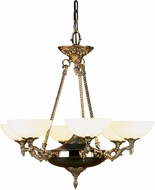 Framburg 8406-FB Napoleonic Traditional French Brass 28  Chandelier Lighting