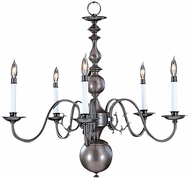 Framburg 9125 Jamestown Traditional Chandelier Light