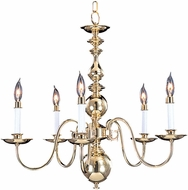 Framburg 9126 Jamestown Traditional Chandelier Lighting