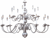Framburg 9138 Jamestown Traditional Hanging Chandelier