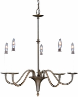 Framburg 9225 Jamestown Traditional Chandelier Light