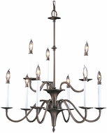 Framburg 9229 Jamestown Traditional Ceiling Chandelier