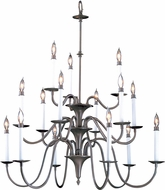 Framburg 9235 Jamestown Traditional Hanging Chandelier