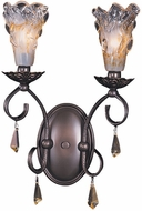 Framburg 9722-MB Liebestraum Traditional Mahogany Bronze Sconce Lighting