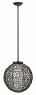 Fredrick Ramond FR34774VBZ Spago Contemporary Vintage Bronze Ceiling Pendant Light