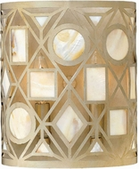 Fredrick Ramond 37122SLF Isla Contemporary Silver Leaf Wall Sconce