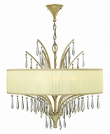 Fredrick Ramond FR40776SLF Camilla Silver Leaf Lighting Chandelier