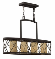 Fredrick Ramond 41614ORB Nest Small 4-light Kitchen Island Light
