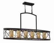 Fredrick Ramond FR41616ORB Nest Large 6-lamp Kitchen Island Lighting
