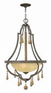 Fredrick Ramond FR42284DIR Cordoba Distressed Iron Entryway Light Fixture