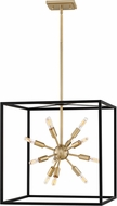 Fredrick Ramond 46314BLK Aros Contemporary Black Entryway Light Fixture