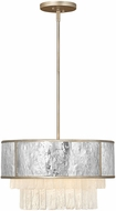 Fredrick Ramond FR32703CPG Reverie Contemporary Champagne Gold Drop Lighting