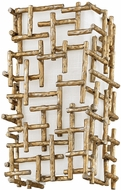 Fredrick Ramond FR33102BNG Farrah Contemporary Burnished Gold Wall Sconce Lighting