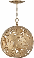 Fredrick Ramond FR35108BNG Botanica Modern Burnished Gold Hanging Lamp