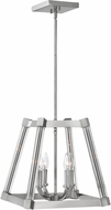 Fredrick Ramond FR36013PNI Empire Contemporary Polished Nickel Foyer Lighting Fixture