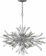 Fredrick Ramond FR40906GG Vida Contemporary Glacial Pendant Light